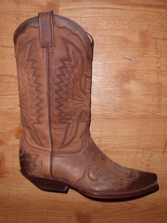 Rancho Boots Gr. 38 Fettleder braun