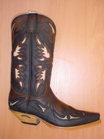 Sendra Boots braun/schwarz