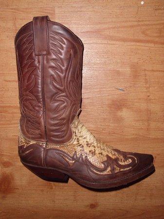 Sendra Boots Gr. 42 piton braun