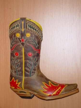 Sendra Boots Skull hellrot