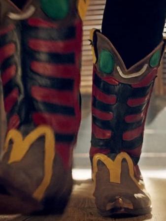 McDonalds Cowboyboot Sonderanfertigung