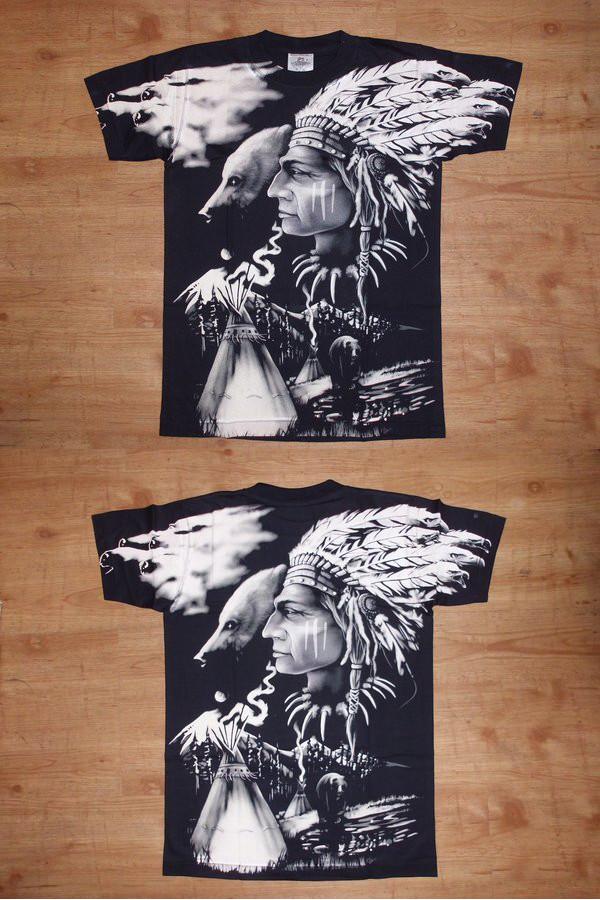 T-Shirt Rock Eagle Häuptling