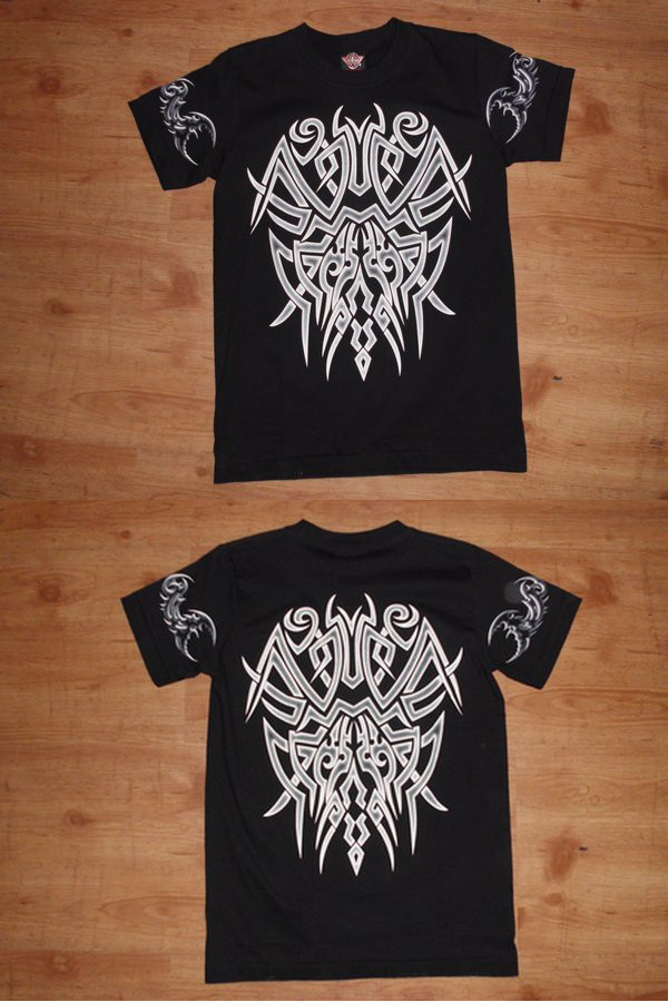 T-Shirt Tribal (leuchtet im Dunkeln)