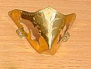 Stiefelspitzen gold