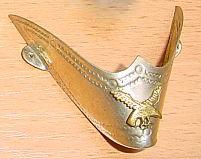 Stiefelspitzen silber